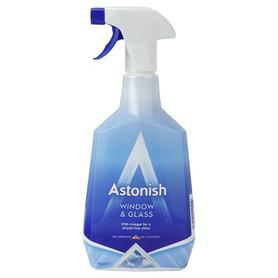 Astonish Window&Glass 750 ml - płyn do mycia okien z octem