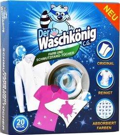 Der Waschkönig Farb&Schmutzfang Tucher - 20 sztuk