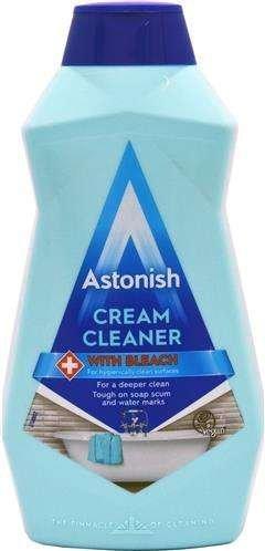 Astonish Cream Cleaner With Bleach 500 ml - mleczko do czyszczenia
