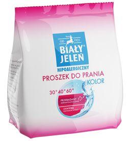 Biały Jeleń hipoalergiczny proszek do prania kolor - 850 g