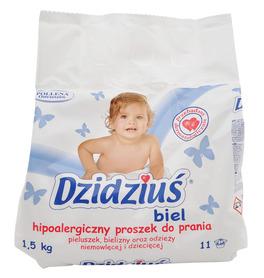 Dzidziuś hipoalergiczny proszek do prania biel - 1,5 kg - 11 prań