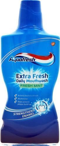 Aquafresh Fresh Mint 0,5 l - płyn do płukania jamy ustnej