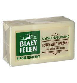 Biały Jeleń - 150 g - mydło w kostce hipoalergiczne, naturalne