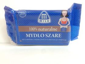 Milo mydło szare - 175 g - w kostce