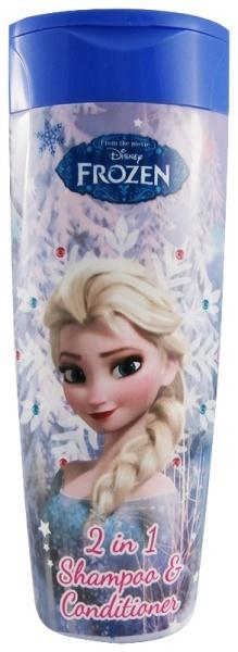 Disney Frozen 2 in 1 - 400 ml - szampon do włosów z odżywką dla dzieci