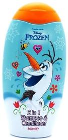 Disney Frozen 2 in 1 - 300 ml - szampon do włosów z odżywką dla dzieci