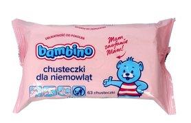 Bambino - chusteczki dla niemowląt - 63 szt