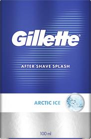 Gillette Arctic Ice 100 ml - woda po goleniu