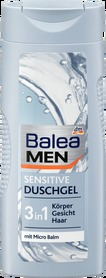 Balea Men Sensitive 3in1 - 300 ml - żel pod prysznic