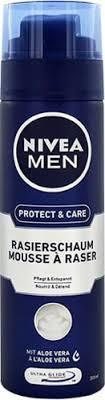 Nivea Men Protect&Care 200 ml - pianka do golenia