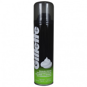 Gillette 200 ml - pianka do golenia - zielona