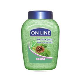 On Line - 750 g - sosna - sól do kąpieli