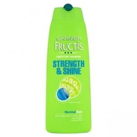 Garnier Fructis Strength&Shine 250 ml - szampon do włosów