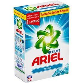 Ariel Alpine Uniwersal - 4,55 kg - 70 prań