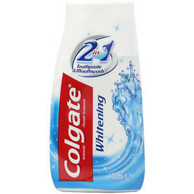 Colgate Whitening 100 ml - pasta do zębów i płyn do płukania