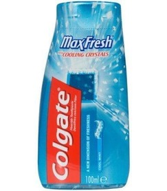 Colgate Max Fresh 100 ml - pasta do zębów i płyn do płukania
