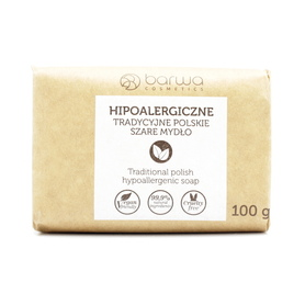 Barwa 100 g - hipoalergiczne szare mydło - w kostce