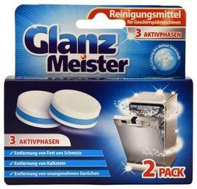 Glanz Meister 2 szt - czyścik do zmywarki w tabletkach